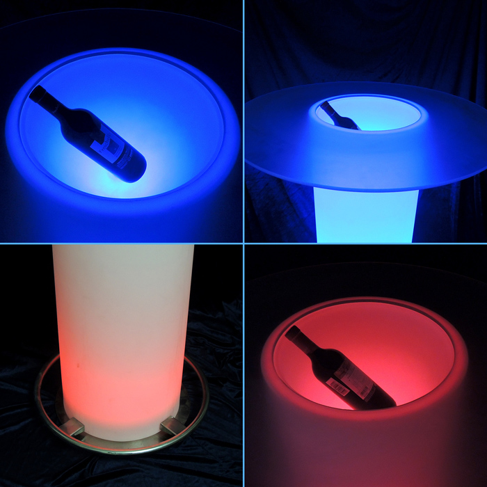 light up bar table