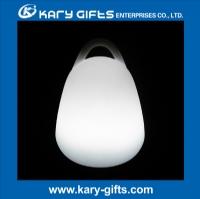 16 colors changing lighting decoration rechargeable Wireless led light KB-2124