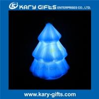 LED glowing night light led Christmas tree night lamp KNL-100TR