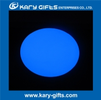 Colorful rechargeable plastic waterproof lighting led ball furniture KB-3528
