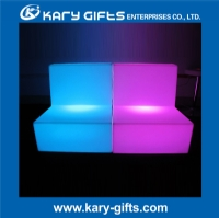 Fresh light up remote controller illuminated led sofa KC-6872S