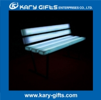 Long Shape LED Glowing Bench Chair KC-1380