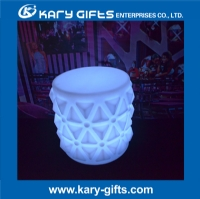 Embossed-Flower-Round-LED-Tables-KFT-5048