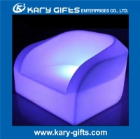 2014 New Design Plastic LED Glowing Lounge Sofa Chair KC-9772