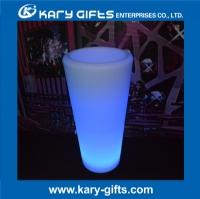 Rechargeable LED glowing flower pot outdoor led luminous planter pots KFP-4093