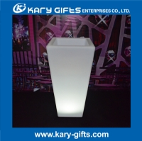 Waterproof Rechargeable RGB Multi Color LED Light up Flower Pot Planters with Remote KFP-4076