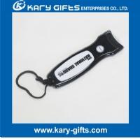 PVC torch led light key chain customized led pvc keychain lamp KB-0105