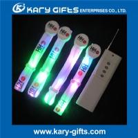 RF radio remote control flashing light up led bracelets KL-0508