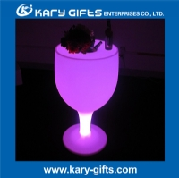 Rechargeable new table led bucket table in wine cup shape KFT-60115
