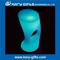 Remote control party club wedding lady illuminated led bar stool KC-3884