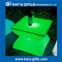 Remote control waterproof coffee led garden table KFT-6050