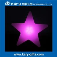 Star shape lighting for party wedding color changing Led star light KB-4010