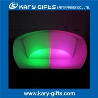 Waterproof nightclub party glowing sofa modern light up sofa KC-7872C