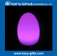 Waterproof outdoor party light Rechargeable egg shape led lighting KB-1522