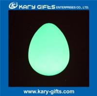 Egg shaped led light color changing led night lamp KB-2629
