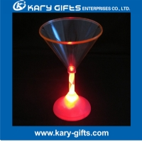 LED light up Martini glass led multi color cup - LC-0202A
