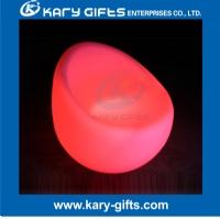 Comfortable LED light up sofa led rechargeable plastic bar sofa KC-7278