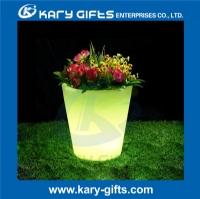 IP 65 led lighted planter pots led illuminate flower pots KFP-2729