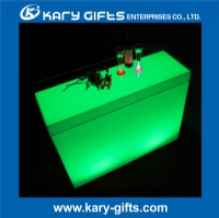 Light up party table led furniture led illuminated table KFT-12090