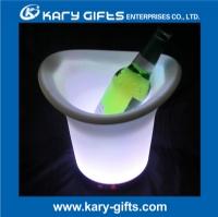 multi color party club decor led illuminated ice bucket KA-0355