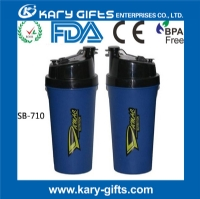 promotion plastic protein drinking bottle shaker cup SB-710