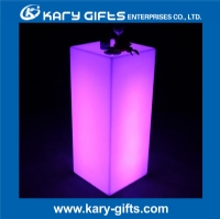 rechargeable RGB remote control waterproof led column table KFT-45110