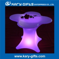 remote control RGB color party led flower table KFT-7871