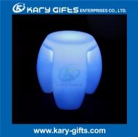 LED RGB multi color chair plastic waterproof led light up stool KC-4340